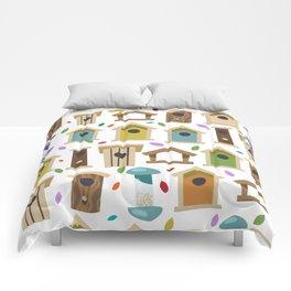 Bird Feeders Comforters