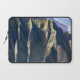 Hawaiian Magic: Angels' View Over Coastal Cliffs Laptop Sleeve
