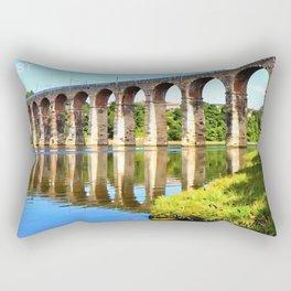 Royal Border Bridge Rectangular Pillow