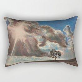 Across the Sky Rectangular Pillow