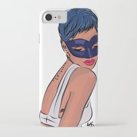 rebel iPhone & iPod Cases featuring Rebel by Ela Designs