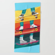 Back to the Future Alternative Movie Poster Beach Towel
