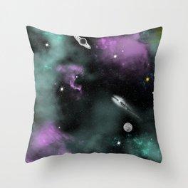 Deeep Space Throw Pillow