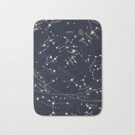 Constellation Chart Bath Mat