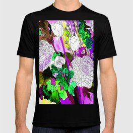 forest flowers 2 T-shirt