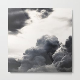 clouds pass by  Metal Print