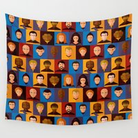 android Wall Tapestries featuring STARFLEET by badOdds