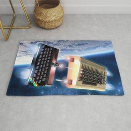 Commodore 64 vs Sinclair ZX Spectrum Rug
