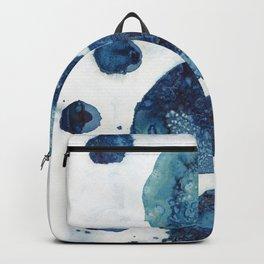 Floating sea foam. Backpack