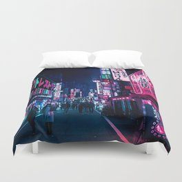 Nocturnal Alley Duvet Cover