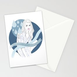 Water Baby Stationery Cards