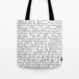 Skinner and the superindentent Chalmers Tote Bag