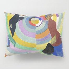 "Robert Delaunay ""Political Drama"" Pillow Sham"
