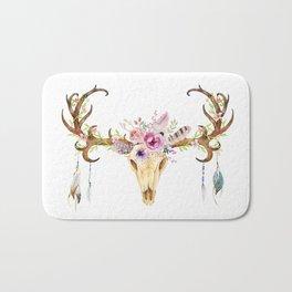 Deer Skull Bath Mat