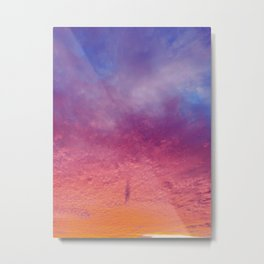 Sherbet Sunset  Metal Print