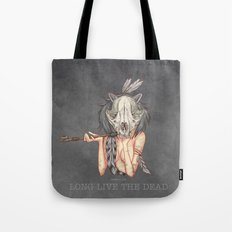 Long live the dead - Raccoon Tote Bag