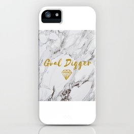 Goal Digger iPhone Case