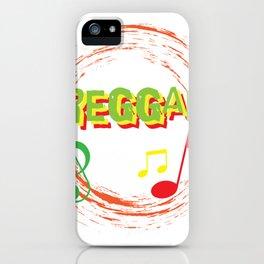 Reggae Music Love iPhone Case