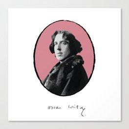 Authors - Oscar Wilde Canvas Print