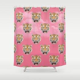TIGER PINK PATTERN Shower Curtain