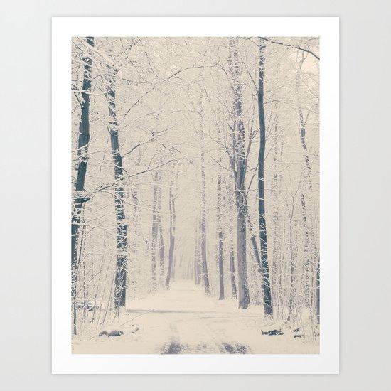 Powder Art Print