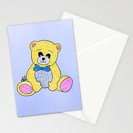Sparkling bear Stationery Cards