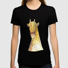 girafe eating a pizza T-shirt