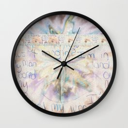 passing notes in class Wall Clock
