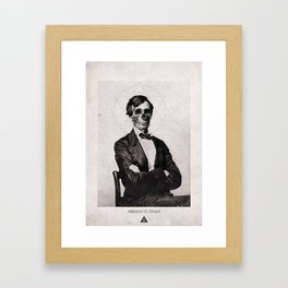 Abram is Dead Framed Art Print
