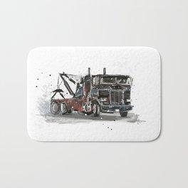 Tow-truck Bath Mat