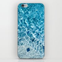 pool iPhone & iPod Skins featuring Pool by Britt Mansouri