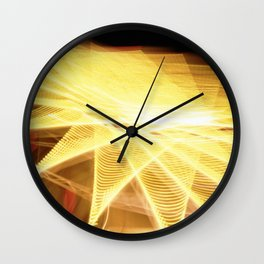 Filament Star Wall Clock