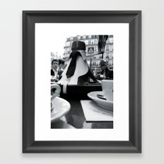 Flore Framed Art Print