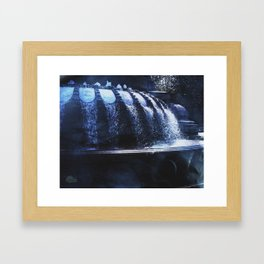 Star Fountain Framed Art Print