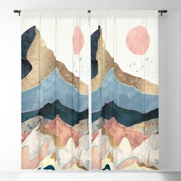 Golden Peaks Blackout Curtain