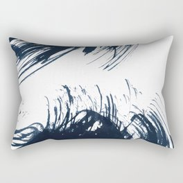 Abstract ink splashes Rectangular Pillow