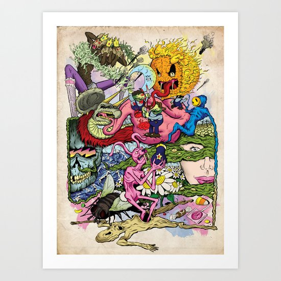 Rabbit Valley Art Print