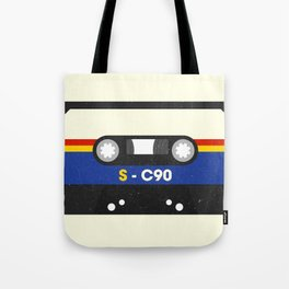 Black Cassette #2 Tote Bag