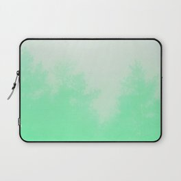 Out of focus - cool green Laptop Sleeve