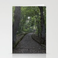 italian Stationery Cards featuring Italian forest by F130284