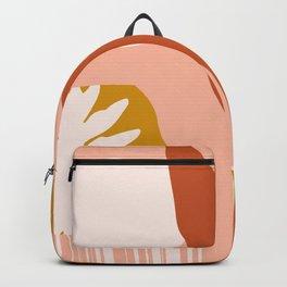 Pink morning Backpack