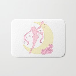 Sailor Moon Silhouette Bath Mat