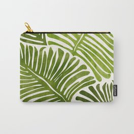 Summer Fern / Simple Modern Watercolor Carry-All Pouch