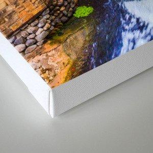 Monk's waterfall Canvas Print
