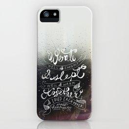 Eat Sleep Love iPhone Case