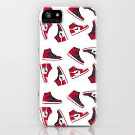Jordan 1 Pattern Multi-Colors iPhone Case