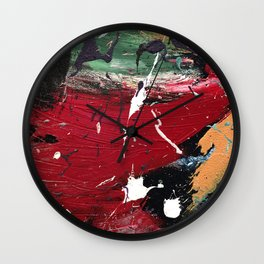 De Kooning Close Up 33nArt Wall Clock