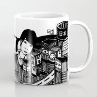 japan Mugs featuring Japan by Matt Ferguson