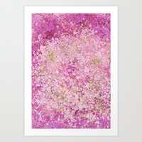 Art Print featuring Spring Breeze Blossom by ART Collective