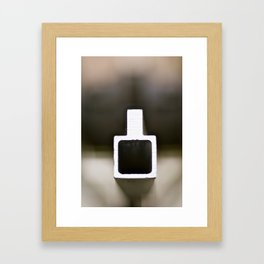 Metal in Abstract Framed Art Print